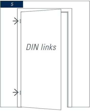 Türen maße  Wie ermittelt man die Maße für eine Tür? - Leyendecker Ihr ...