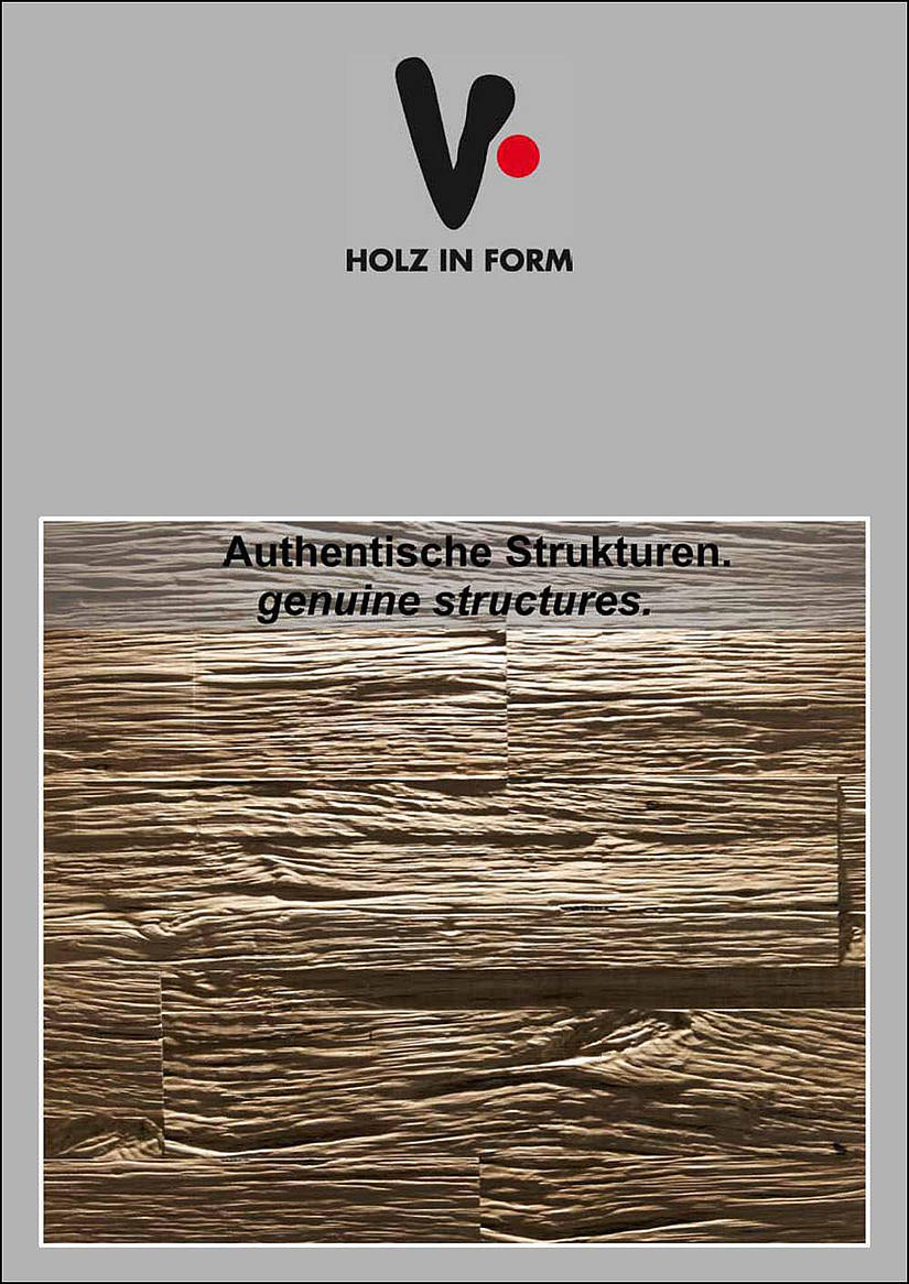 Holz in Form - authentisch